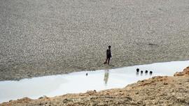 India Kirim Air Bersih dengan Kereta untuk Atasi Kekeringan