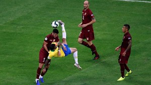 Tiga Gol Dianulir, Brasil-Venezuela Imbang di Copa America