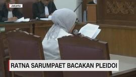 VIDEO: Bacakan Pledoi, Ratna Sarumpaet Menangis