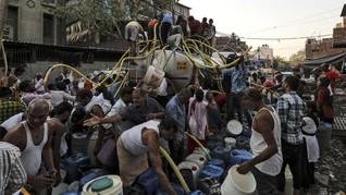 Kekeringan di India Picu Demo dan Perkelahian Antarwarga