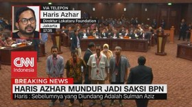 VIDEO: Haris Azhar Mundur Jadi Saksi BPN, Ini Alasannya!