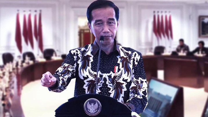 Jokowi bilang Google adalah perpusatakaan masa kini di era digital.
