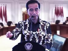 Jokowi: Saya Bukan Marah, Tapi Motivasi Menteri
