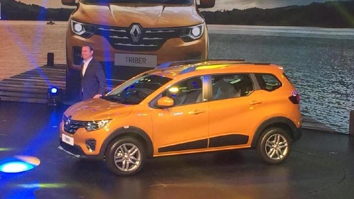 Ini Penampakan Lengkap Renault Triber, Calon Pesaing Avanza