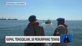 VIDEO: Kapal Tenggelam, 16 Penumpang Tewas