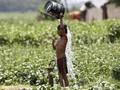 FOTO: Diterjang Gelombang Panas di India