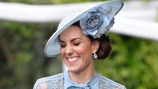 Gaya Seksi 'Kembar Tiga' Kate Middleton di Royal Ascot