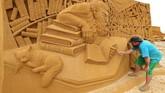Di sini, seniman dibebaskan untuk bermain dengan imajinasi masing-masing.(REUTERS/Yves Herman)