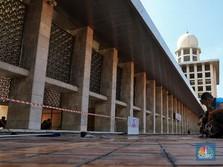 Telan Rp 465,3 M, Renovasi Masjid Istiqlal Tuntas Maret 2020