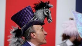 FOTO: Dari Kuda dan Lebah, Topi Unik di Royal Ascot Inggris