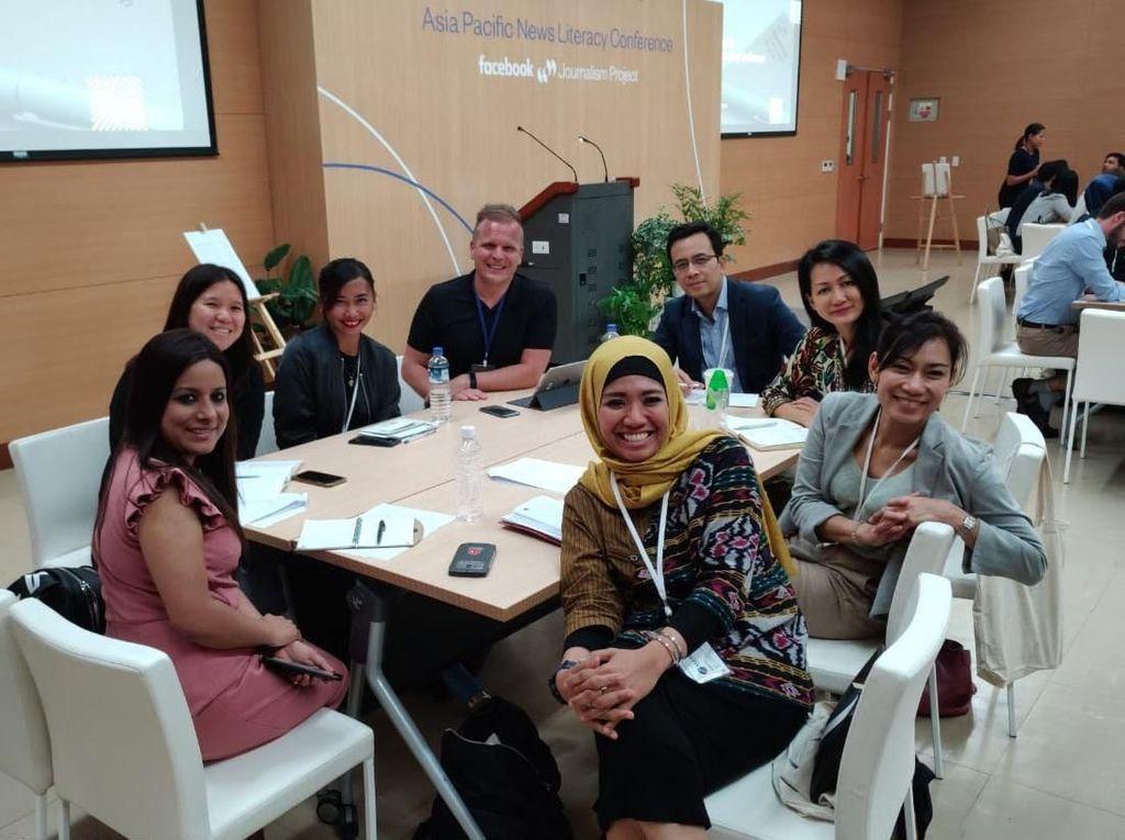 32 peserta itu berasal dari negara anggota ASEAN, Australia, Amerika Serikta, India, Srilanka, dan Taiwan. Mareta Maulidiyanti/Kepala Humas Vokasi UI.