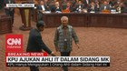 VIDEO: Batal Ajukan Saksi, KPU Ajukan Ahli IT Dalam Sidang MK