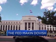 The Fed Tahan Suku Bunga Kisaran 2,25 dan 2,5 Persen