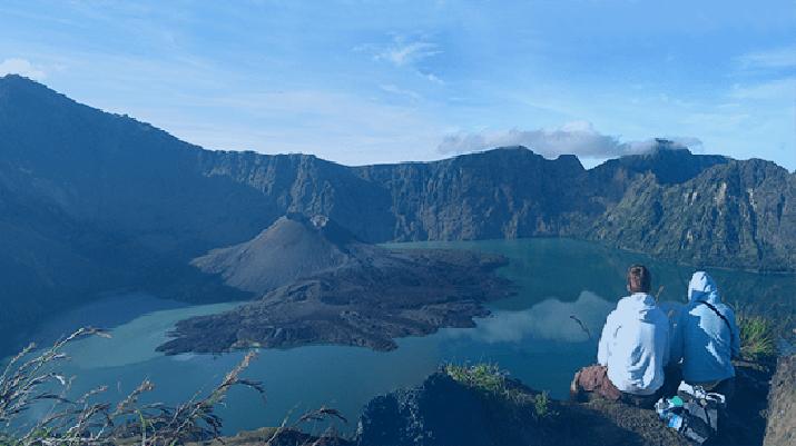 (Dok. Balai Taman Nasional Gunung Rinjani via Detik Travel)