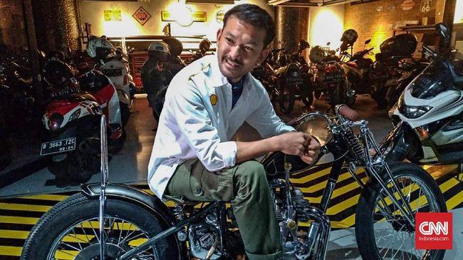Rio Dewanto 'Keracunan' Motor <i>Custom</i>