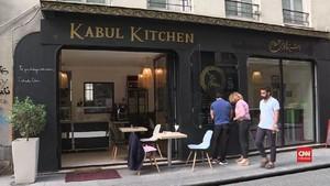 VIDEO: Hari Pengungsi, Restoran Afganistan Dibuka di Paris
