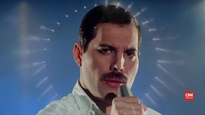 VIDEO: Video Klip Langka Freddy Mercury Dirilis Kembali
