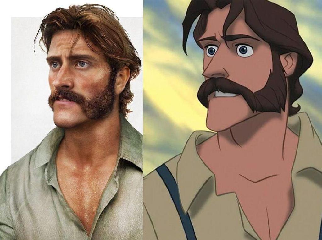 Pasti banyak yang naksir dengan sosok satu ini yakni John, ayah dari Tarzan.Dok. Instagram/jirkavinse