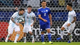 Imbang dengan Paraguay, Argentina Terancam di Copa America