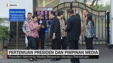 VIDEO: Pertemuan Presiden dan Pimpinan Media