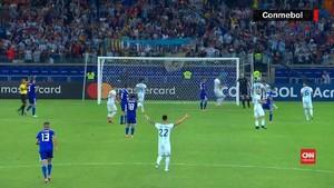 VIDEO: Messi Bantu Argentina Hindari Kekalahan dari Paraguay