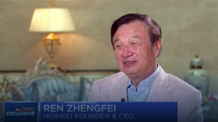 CEO Huawei Ren Zhengfei (Foto: CNBC)
