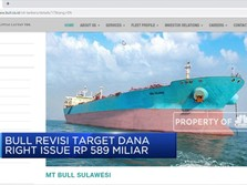 BULL Revisi Target Dana Right Issue Rp 589 M