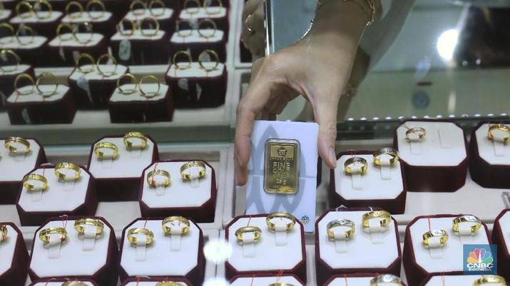 Ekonomi RI Kurang Cihuy, Emas jadi Pilihan Investasi Terbaik