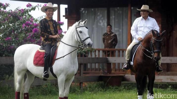 Jokowi dan Prabowo (Ist Detikcom)