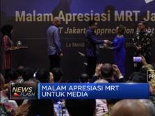 Apresiasi MRT Jakarta untuk CNBC Indonesia