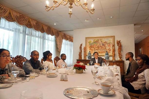 Dubes Al Busyra Basnur Bertemu Wirausahawan Muda Ethiopia