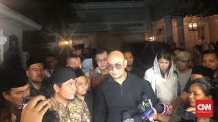 Masuk Islam, Deddy Corbuzier Sowan ke Ma'ruf Amin