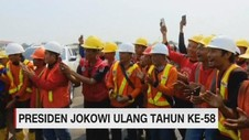VIDEO: Presiden Jokowi Ulang Tahun ke-58