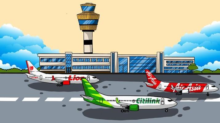 Harga tiket pesawat ke Singapura turun drastis untuk penerbangan sampai Maret nanti, berminat beli?