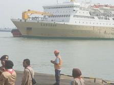 Di Pelabuhan Tanjung Perak Haram Jual Tiket Langsung