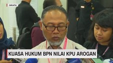 VIDEO: Kuasa Hukum BPN Nilai KPU Arogan