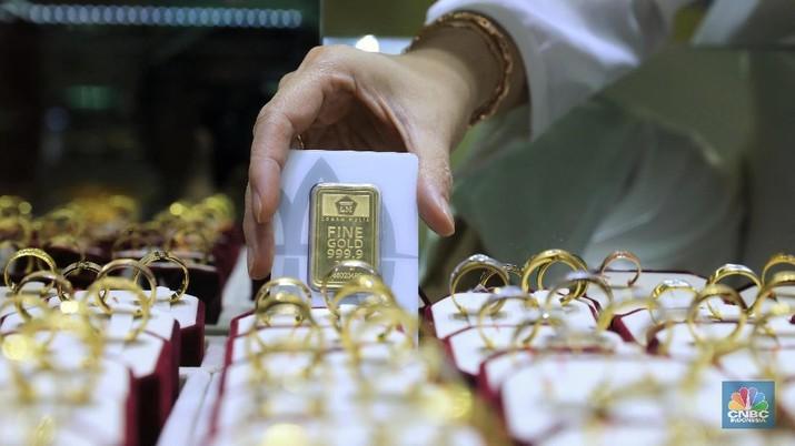 Hhanya dalam kurun waktu satu bulan, kenaikan harga emas mencapai 10%. Namun bagaimana prospek investasi emas?
