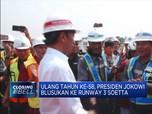 Gema Lagu Ulang Tahun untuk Jokowi