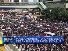 Demo Warga Hong Kong Berlanjut, Desak RUU Ekstradisi Dicabut