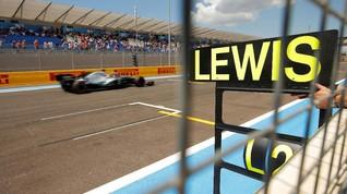 Hasil Kualifikasi F1 GP Prancis: Hamilton Rebut Pole