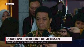 VIDEO: Prabowo Berobat ke Jerman
