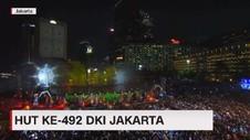 VIDEO: Kemeriahan HUT DKI Jakarta ke-492
