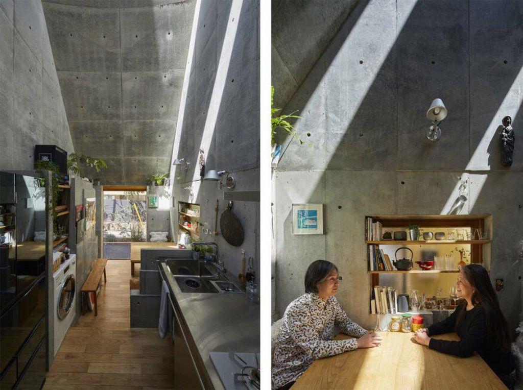 Bagaimana ya rasanya tinggal di rumah mungil? Istimewa/Inhabitat/Koji Fujii Nacasa and Partners.