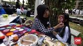 Acara tersebut digelar untuk memeriahkan perayaan Hari Ulang Tahun (HUT) DKI Jakarta ke-492 selama dua hari mulai 22-23 Juni 2019. (CNN Indonesia/Hesti Rika)