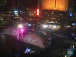 Warga Menyemut di Acara Jakarta Night Festival HUT Jakarta