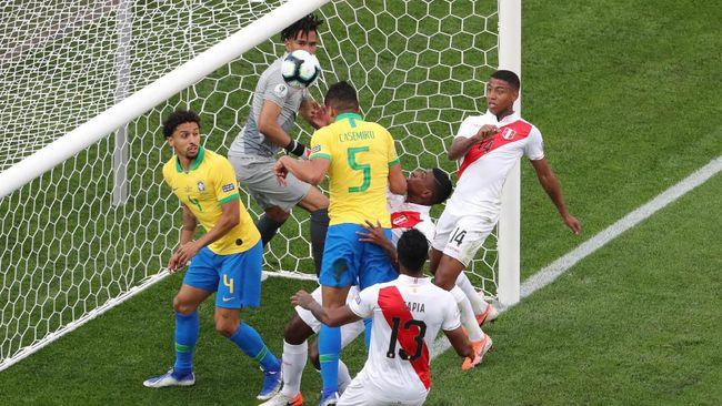 Fakta Menarik Final Copa America 2019: Brasil vs Peru
