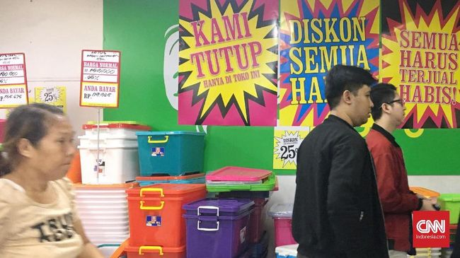 Tutup 6 Gerai Giant, Hero Supermarket Sudah Dua Tahun Rugi