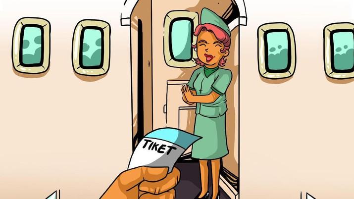 Harga tiket pesawat mulai meroket lagi jelang libur natal dan tahun baru!