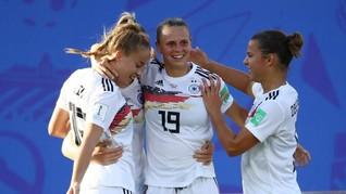 Jerman dan Norwegia ke Perempat Final Piala Dunia Wanita 2019