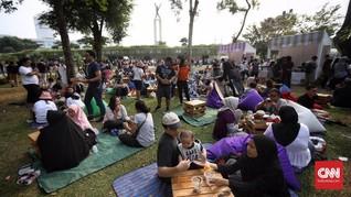 FOTO: Piknik di Lapangan Banteng Rayakan HUT Ke-492 Jakarta